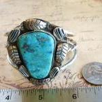 Vintage Sterling Silver Large Stone..
