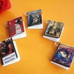 Christmas Miniature Book Charms Set..